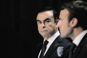 Ghosn, Macron