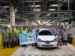 Novo Mesto avait déjà produit près de 1,5 millions de Clio 2