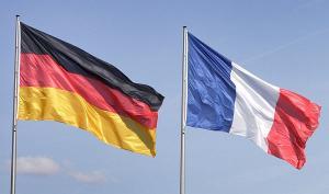 Drapeaux France-Allemagne
