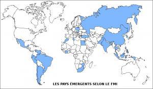Les pays émergents selon le FMI